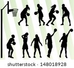 Women Basketball Vector...