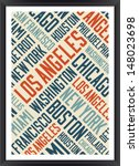 Los Angeles City Words Cloud...
