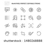 simple set of photo editing... | Shutterstock .eps vector #1480268888