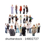 groups and cliques    of  ... | Shutterstock . vector #14802727