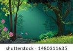 faint light in a beautiful... | Shutterstock .eps vector #1480311635