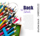 back to school   vector... | Shutterstock .eps vector #148032122