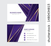 purple and gold geometric... | Shutterstock .eps vector #1480434815