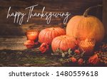 Happy Thanksgiving Greeting...