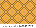 geometric shape abstract vector ... | Shutterstock .eps vector #1480592522