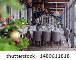 New Year\'s Christmas Interior...