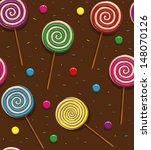candy seamless patteren 01 ... | Shutterstock .eps vector #148070126