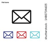 Mail Icon Vector  Email Sign