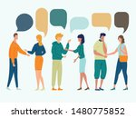 illustration of group of people ... | Shutterstock .eps vector #1480775852