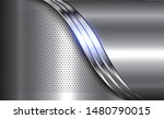 silver metal background ... | Shutterstock .eps vector #1480790015
