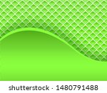 abstract backround 3d  wavy... | Shutterstock .eps vector #1480791488