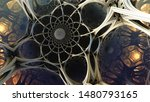 abstract background 3d ... | Shutterstock . vector #1480793165