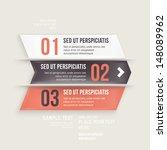 modern design infographic... | Shutterstock .eps vector #148089962