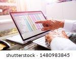 businessman working with...   Shutterstock . vector #1480983845