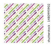 organic asparagus hand drawn... | Shutterstock .eps vector #1480995902
