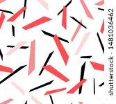 seamless color geometric... | Shutterstock .eps vector #1481036462
