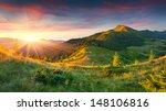 beautiful summer landscape in... | Shutterstock . vector #148106816