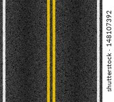 asphalt road with marking lines.... | Shutterstock .eps vector #148107392