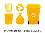 Yellow Bin Collection  Recycle...