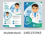 medical brochure. flyer design. ... | Shutterstock .eps vector #1481151965