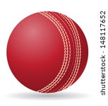 cricet ball illustration... | Shutterstock . vector #148117652
