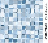 seamless checkered camouflage.... | Shutterstock .eps vector #1481189618