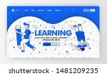 landing page for learning and...