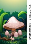 illustration of the mushrooms... | Shutterstock .eps vector #148122716