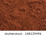 Cocoa Powder Top Close Up...
