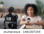 professional camera device... | Shutterstock . vector #1481307245