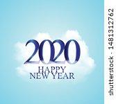 vector illustration of new year ...   Shutterstock .eps vector #1481312762