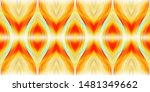 colorful seamless wavy striped... | Shutterstock . vector #1481349662