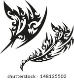 tattoos for arms and shoulders. | Shutterstock .eps vector #148135502
