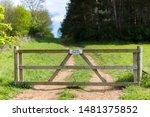 Private Farm Land Fenced Off B...