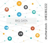 big data trendy web template...