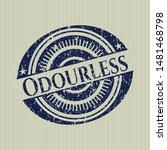 blue odourless distressed... | Shutterstock .eps vector #1481468798