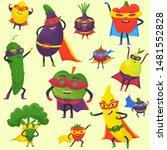 Superhero Fruit And Vegetables...