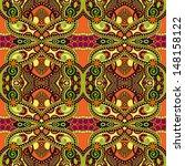 geometry vintage floral... | Shutterstock . vector #148158122
