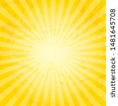 backgrounds ray or abstract sun ...   Shutterstock . vector #1481645708