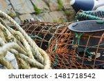 Old Broken Lobster Pot With...