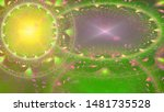 Abstract Fractal Background...