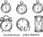 vector illustration of various... | Shutterstock .eps vector #1481788592