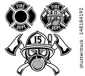 badge,fire department,fireman,fireman badge,fireman helmet,fireman hose,illustration,vector