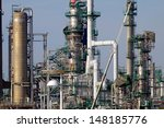 expansion works at a refinery... | Shutterstock . vector #148185776
