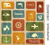 travel web collection  | Shutterstock .eps vector #148186502