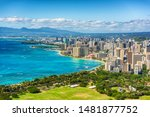 Honolulu City View From Diamon...