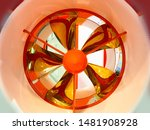 A Turbine Of The Engine Of The...