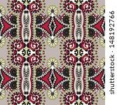 geometry vintage floral... | Shutterstock . vector #148192766
