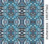 geometry vintage floral... | Shutterstock . vector #148197662