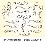 elegant elements of design... | Shutterstock .eps vector #1481982245